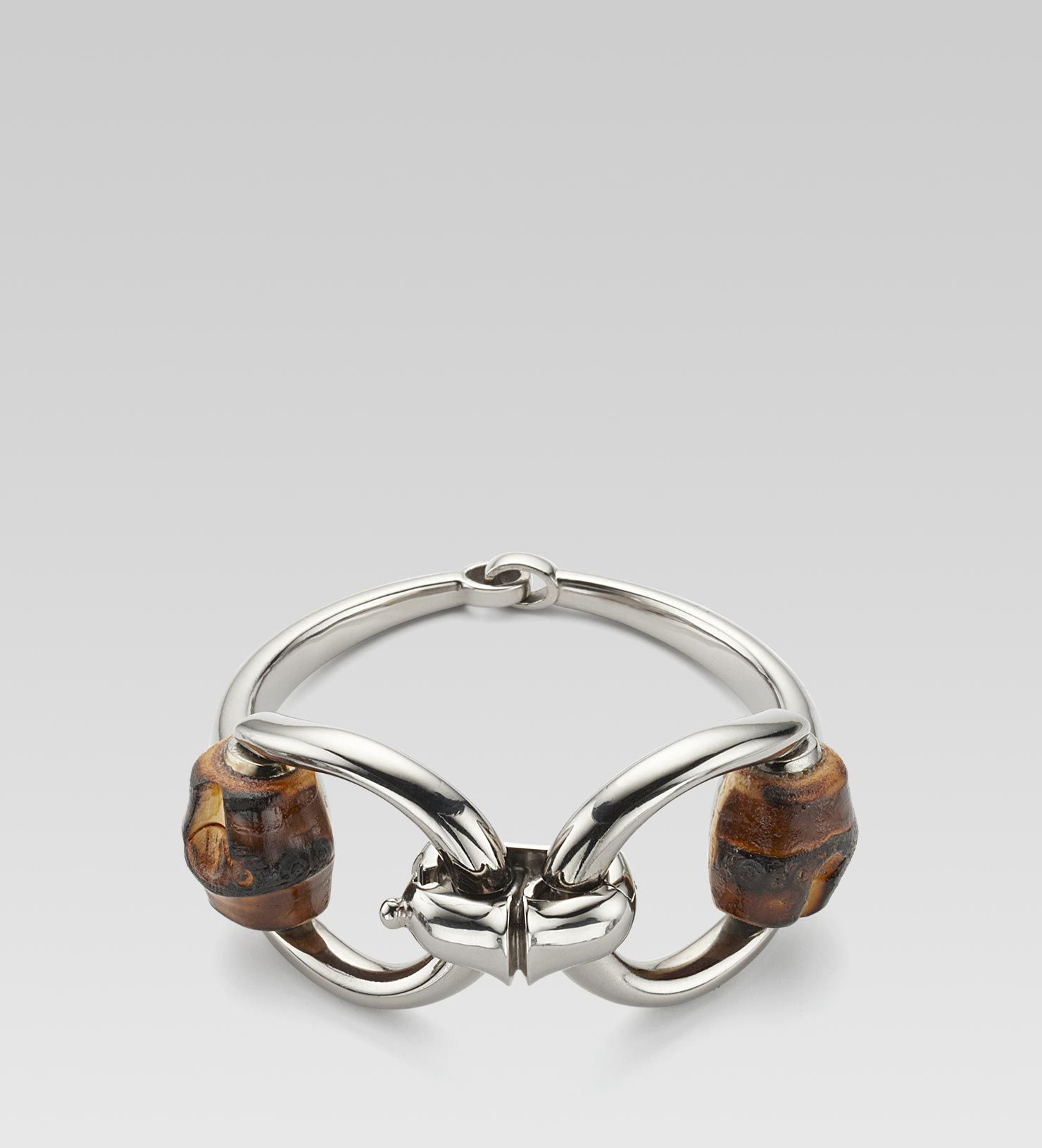 381bc87e7 Gucci Bamboo Bracelet with Horsebit motif | Jewelry in 2019 | Gucci ...