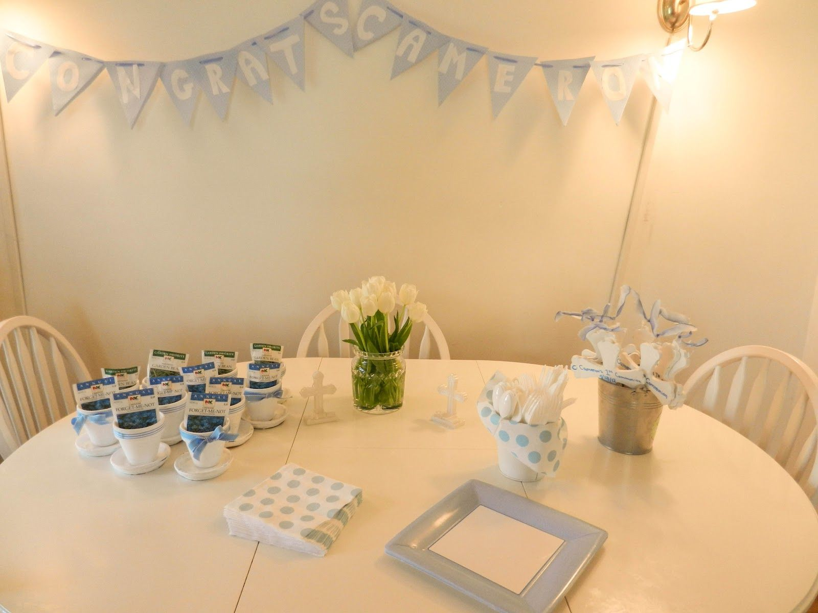 I love entertaining and the details that go into making a party