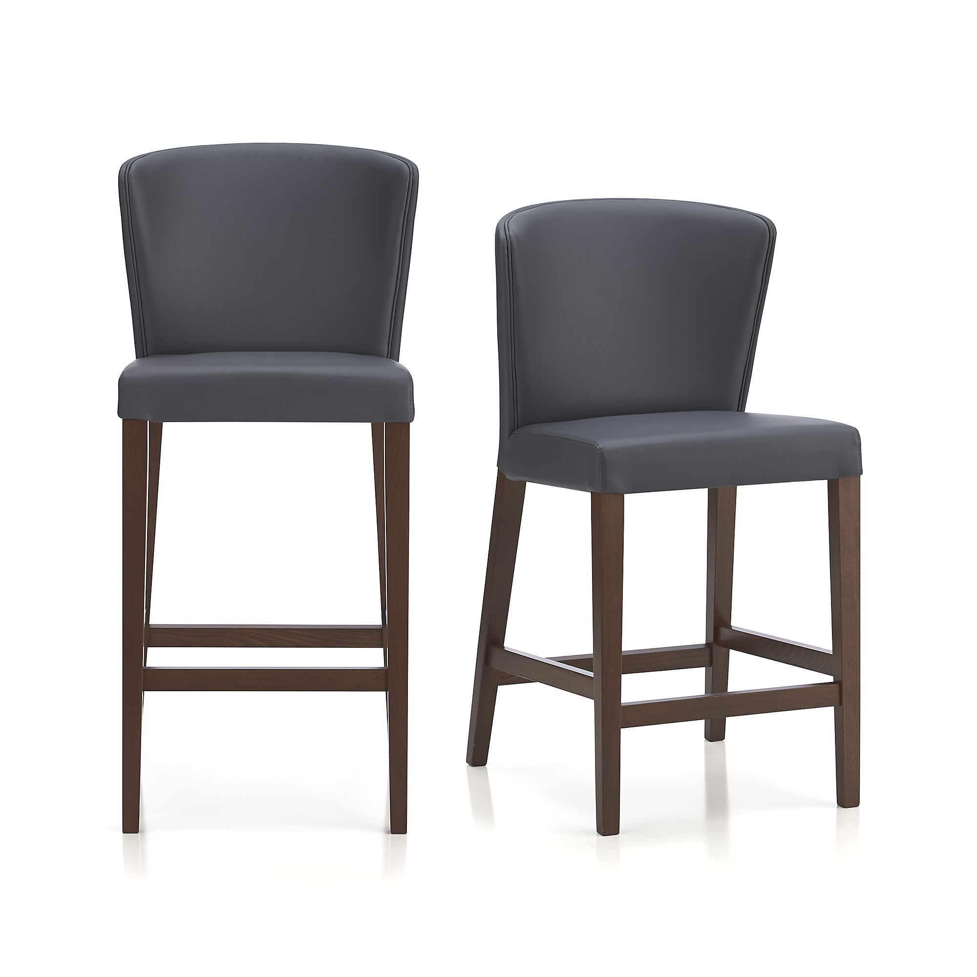 Awesome Curran Grey Bar Stools Crate And Barrel Dining Areas Dailytribune Chair Design For Home Dailytribuneorg