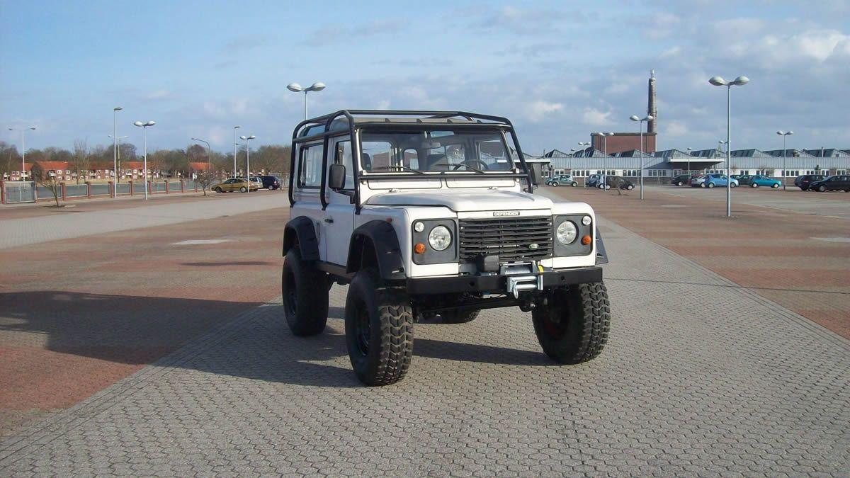 Land Rover Defender 90 Tdi Seilwinde Offroad Felgen