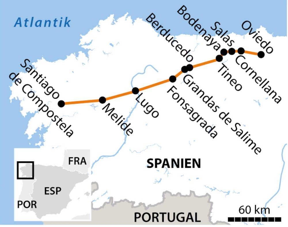 Camino Primitivo Der Alteste Jakobsweg Spaniens Jakobsweg