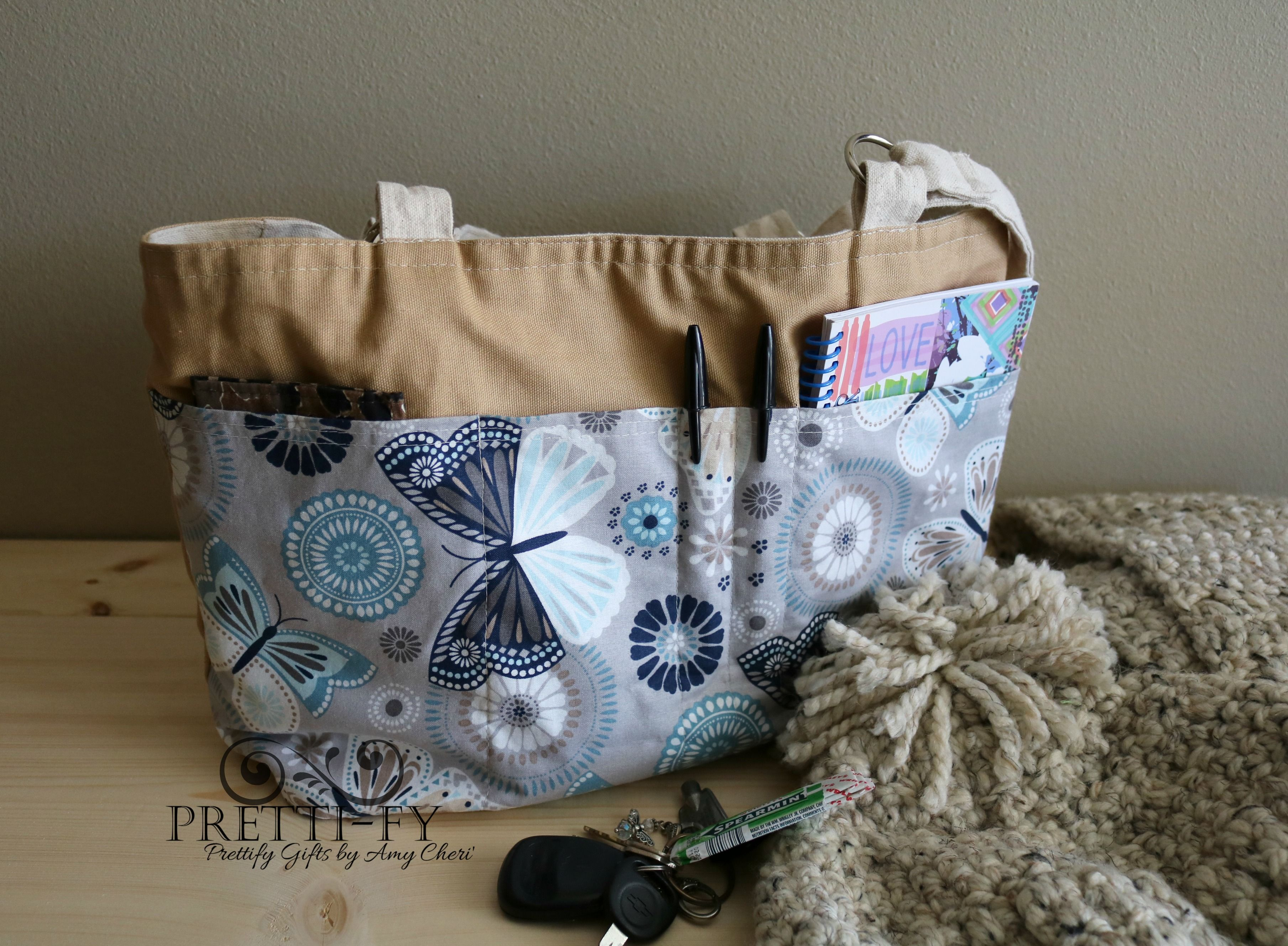 New Organizer Tote Bag Keeps Purse Chaos Under Control! [Design Launch]
