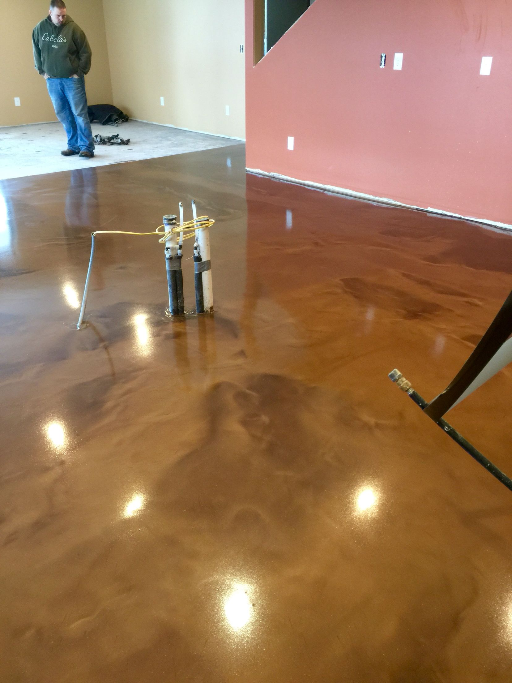 application for floors reasons phoenix barefoot choosing your floor coats top choose man coatings cave concrete surfaces epoxy to coat