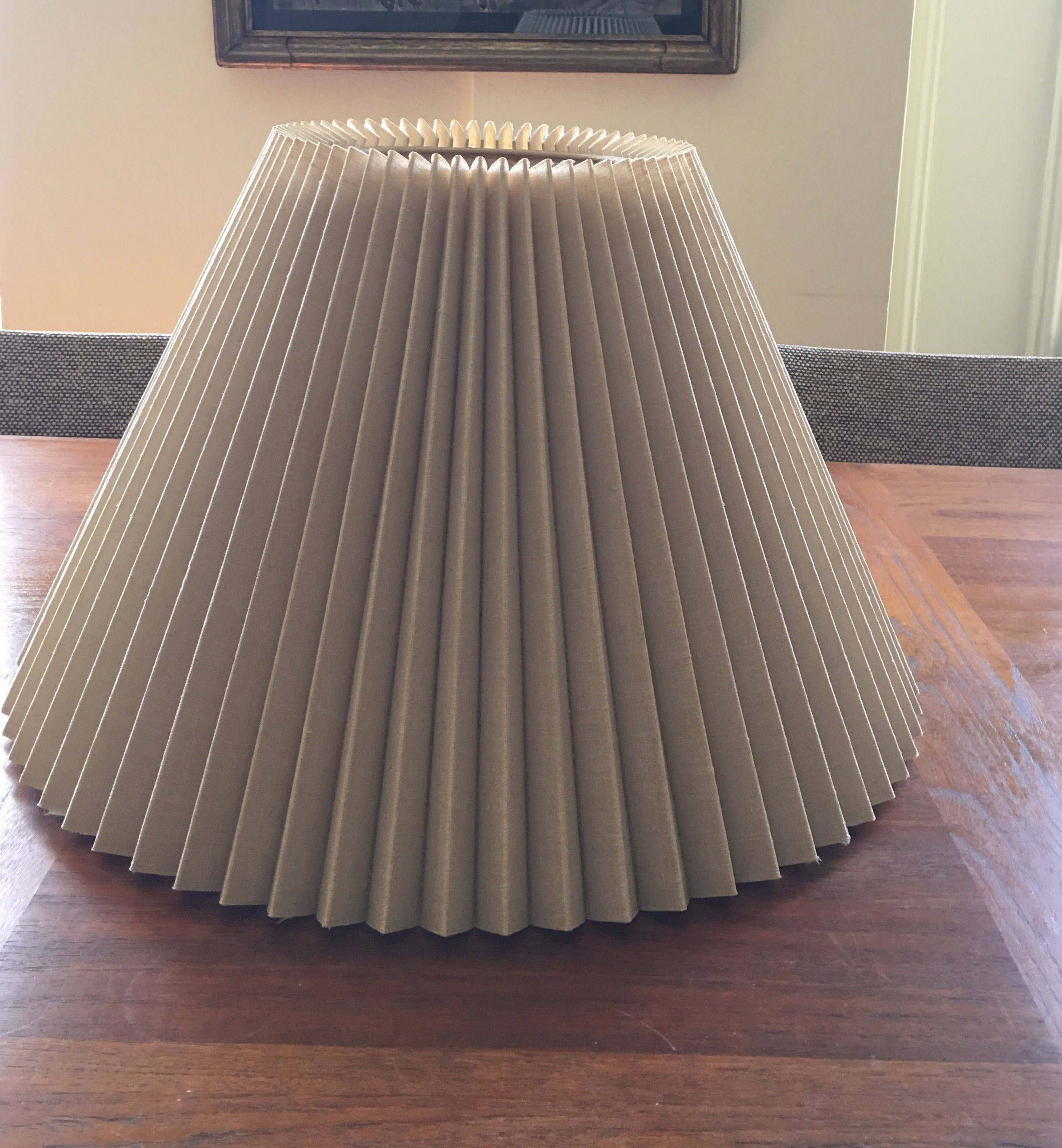 lighting lamp pin tutorial recover and lamps lampshade shades pleated