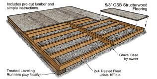 How To Make A Shed Floor Waterproof Google Search Shed Base Shed Floor Wooden Sheds