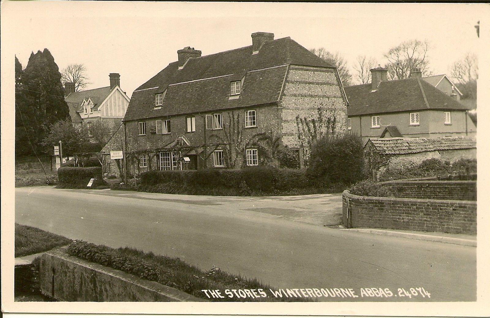 RP Postcard - THE STORES, WINTERBOURNE ABBAS Dorset • EUR 2,98 ...