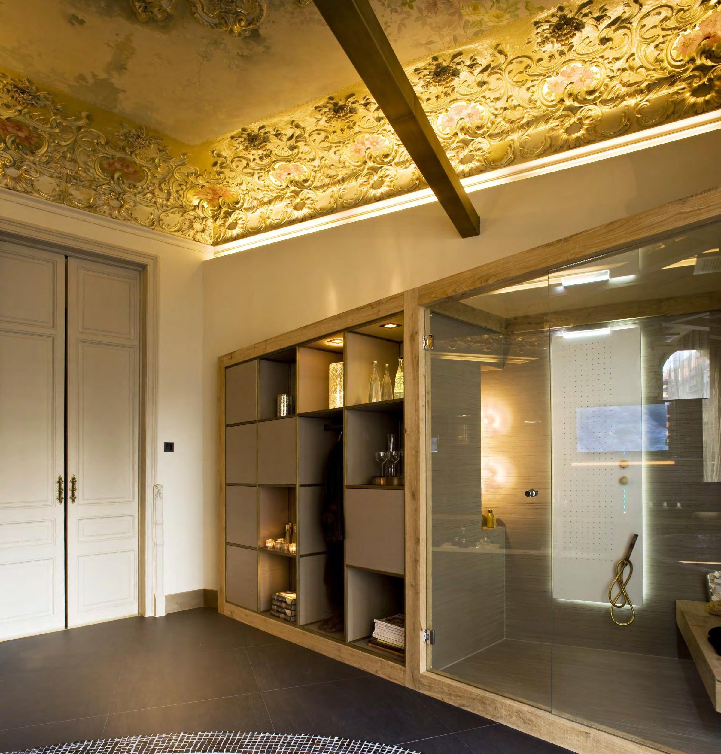 Coblonal interiorismo ba o con sauna casa decor interiores y ba os Interiorismo banos modernos