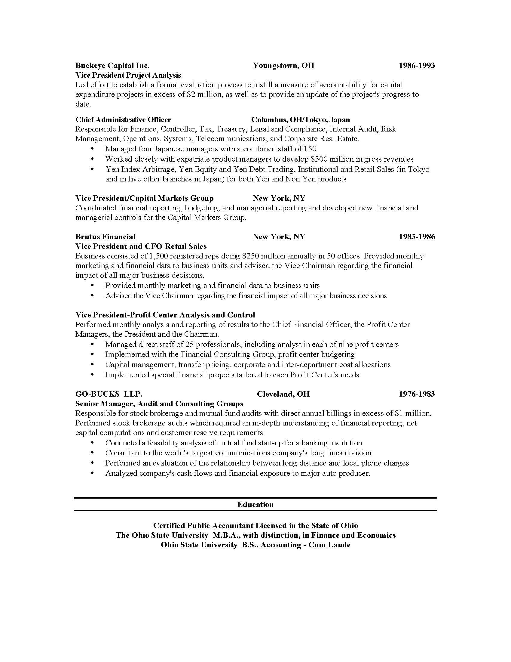 U Of T Resume Examples | Pinterest