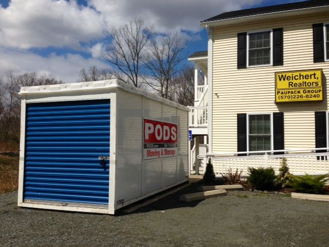 Pod Storage Unit Now That Is Moving Smartly Pods Moving Lake Wallenpaupack Storage Unit
