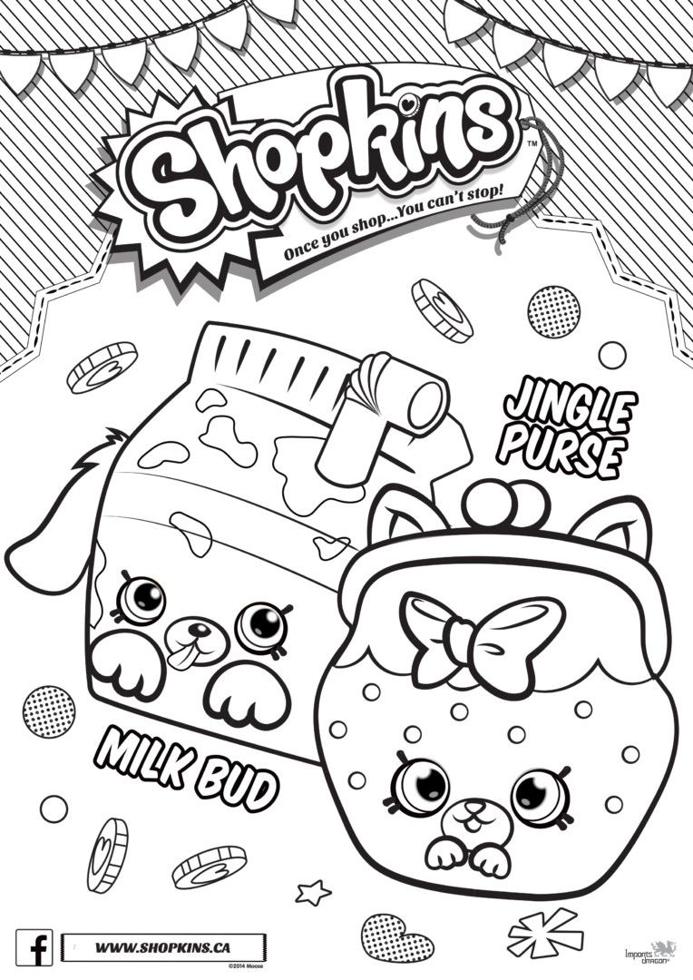 shopkins season 4 coloring pages printable and coloring book to print for  free. Find more coloring pages online for kids and adults of shopkins  season 4 ...