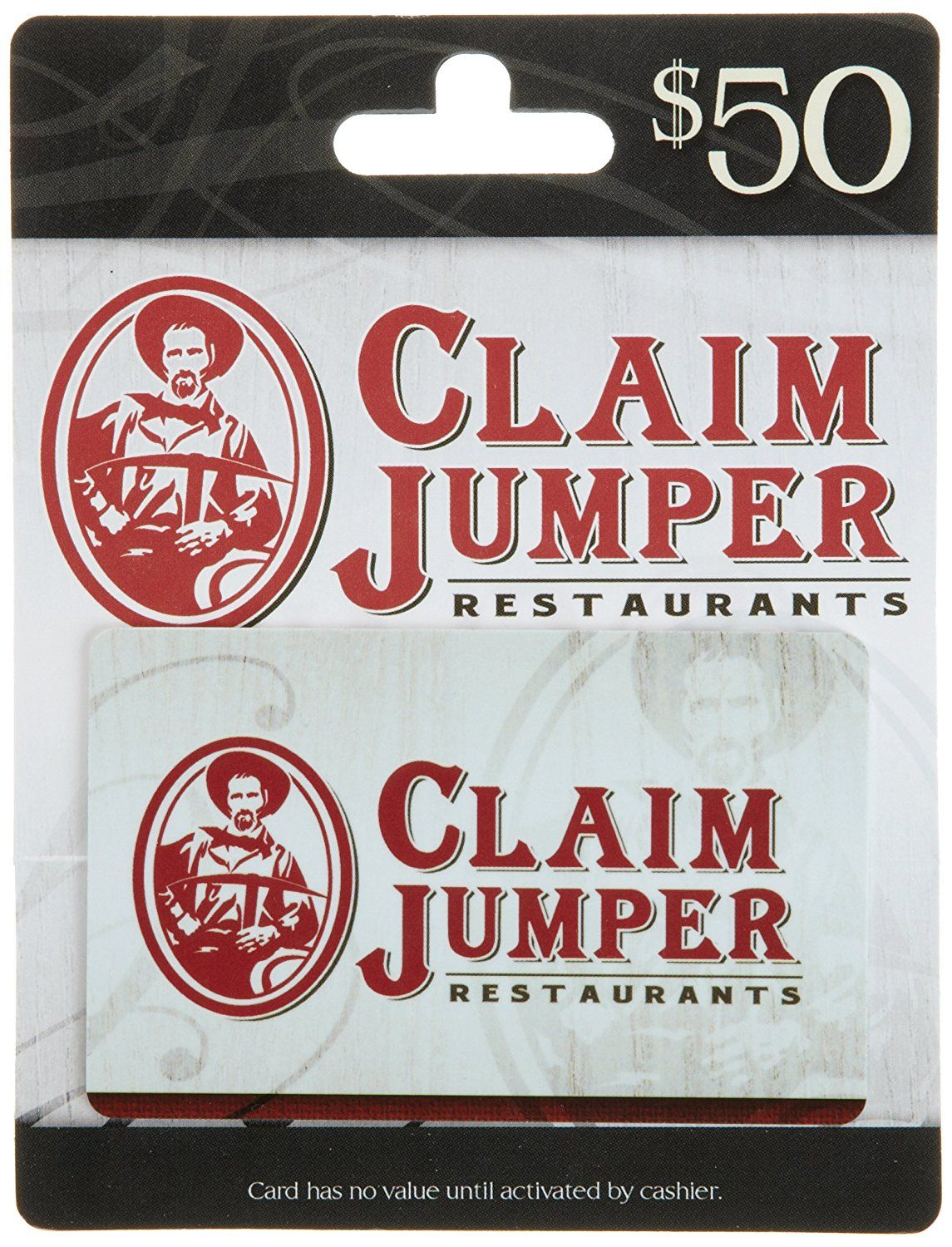 Claim jumper gift card tried it love it click the