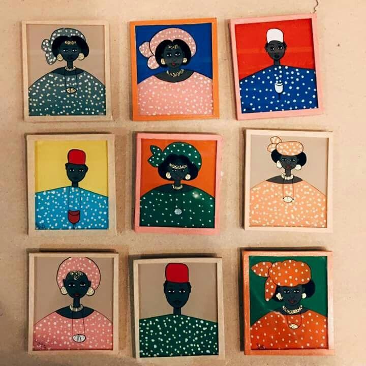 tableau africain senegal