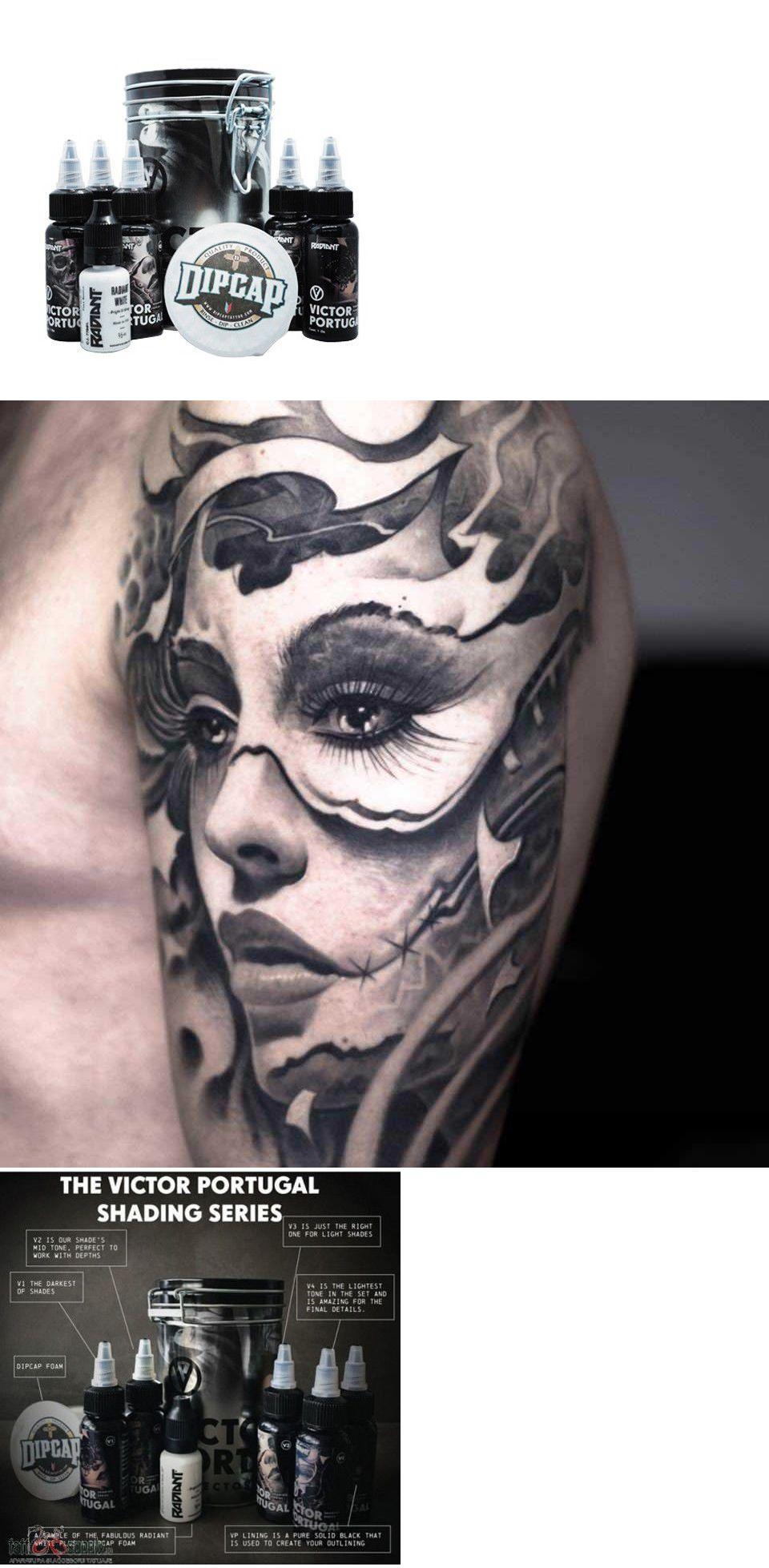 Radiant Colors Tattoo Ink Victor Portugal 6 Color 1 Oz Shading Wash Set 791689136578 Ebay Ink Tattoo Color Tattoo Tattoo Ink Sets