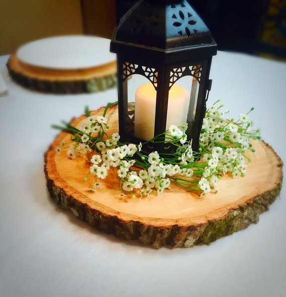 Hey I Found This Really Awesome Etsy Listing At Https Www 287442429 11 12 Wood Slices Wedding Centerpieces