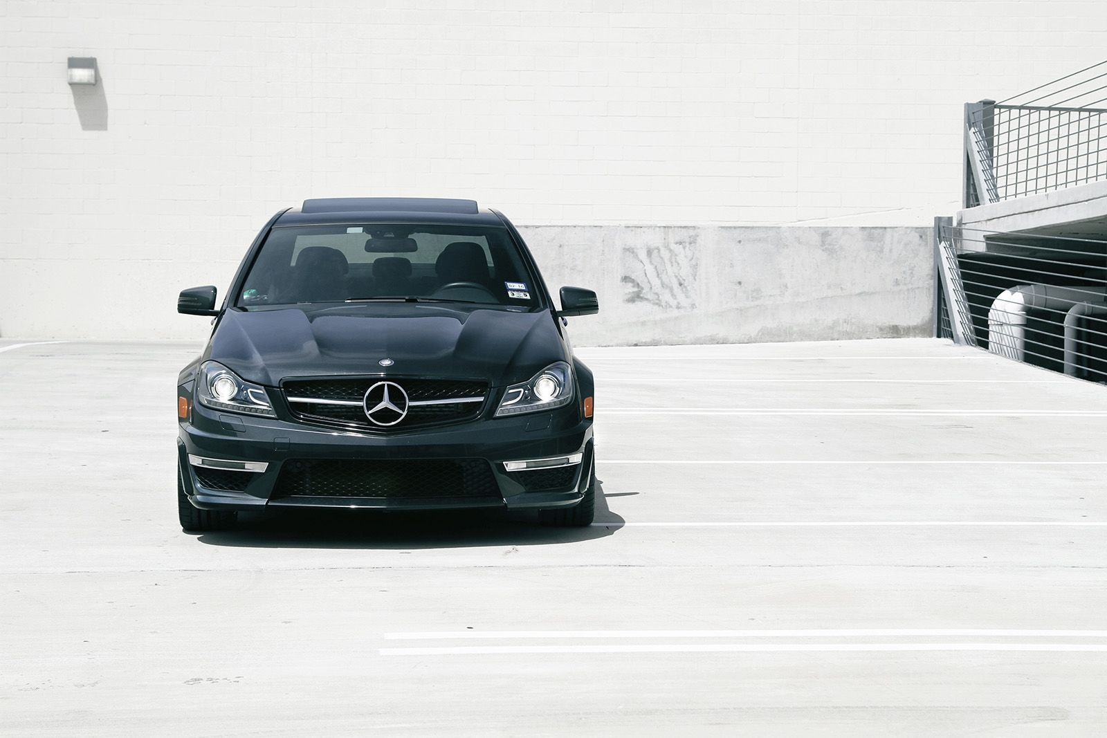 Black bison edition tuning package for the w204 mercedes benz c class - Mercedes Benz W204 C63 Amg
