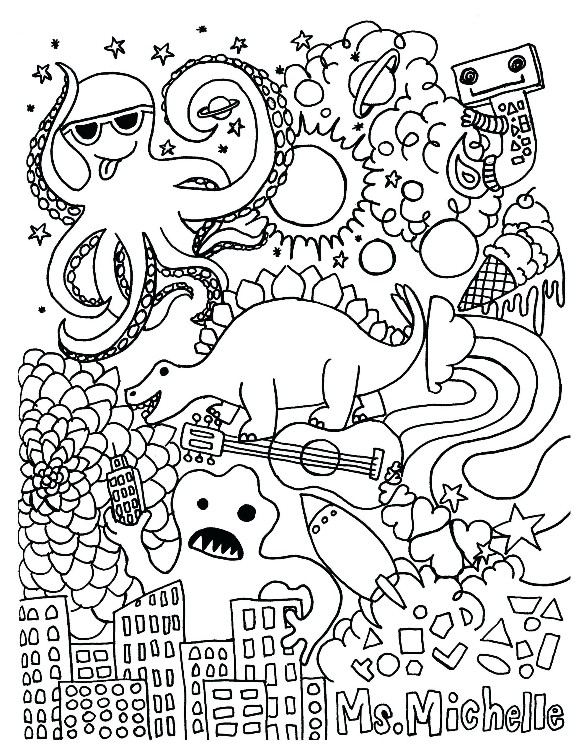 3 Free Math Coloring Worksheet.pdf in 3  Coloring pages