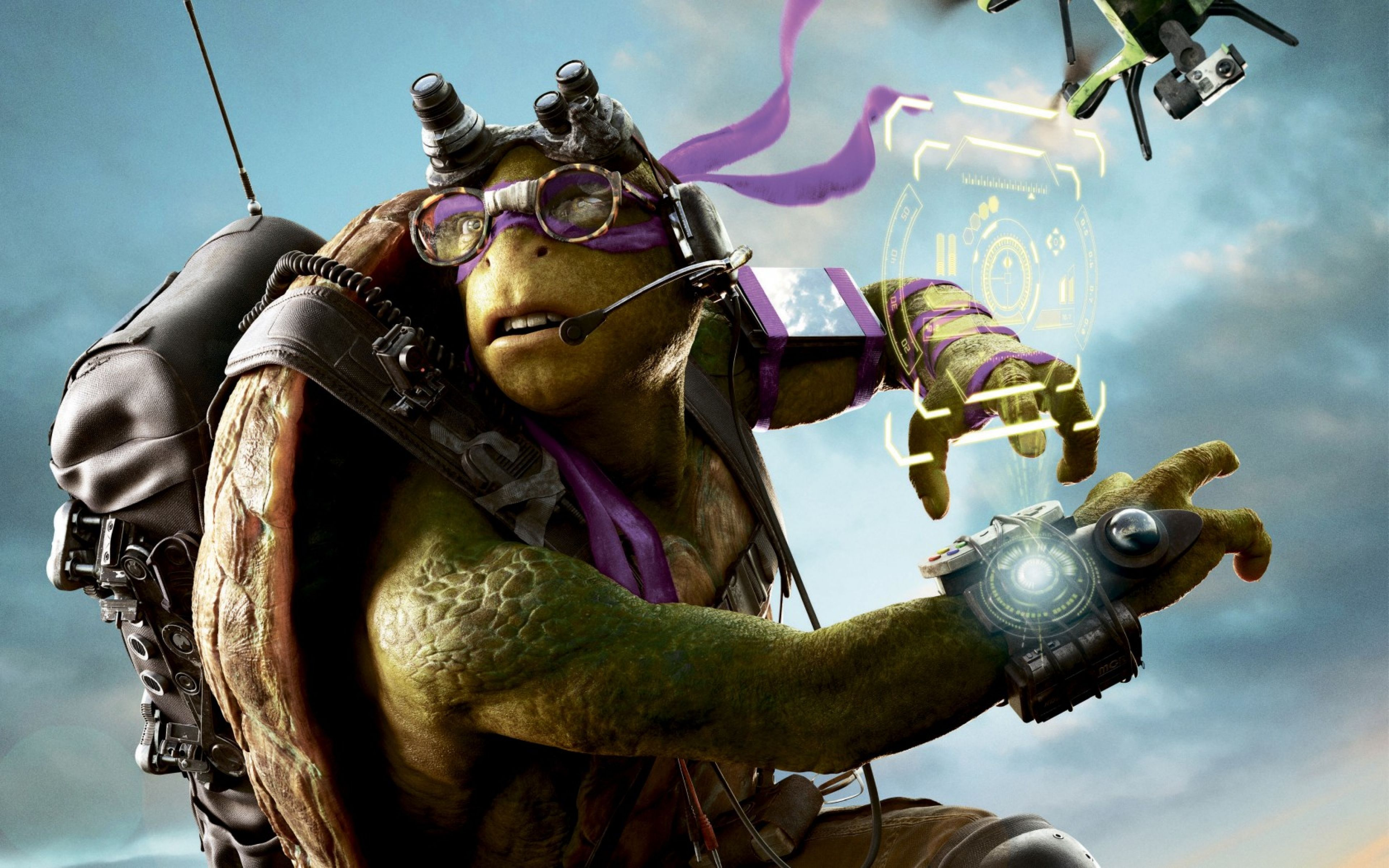 Cool pose teenage mutant ninja turtle wallpape wallpaper hd donatello teenage mutant ninja turtles out of the shadows wallpapers wallpapers hd wallpapers voltagebd Images