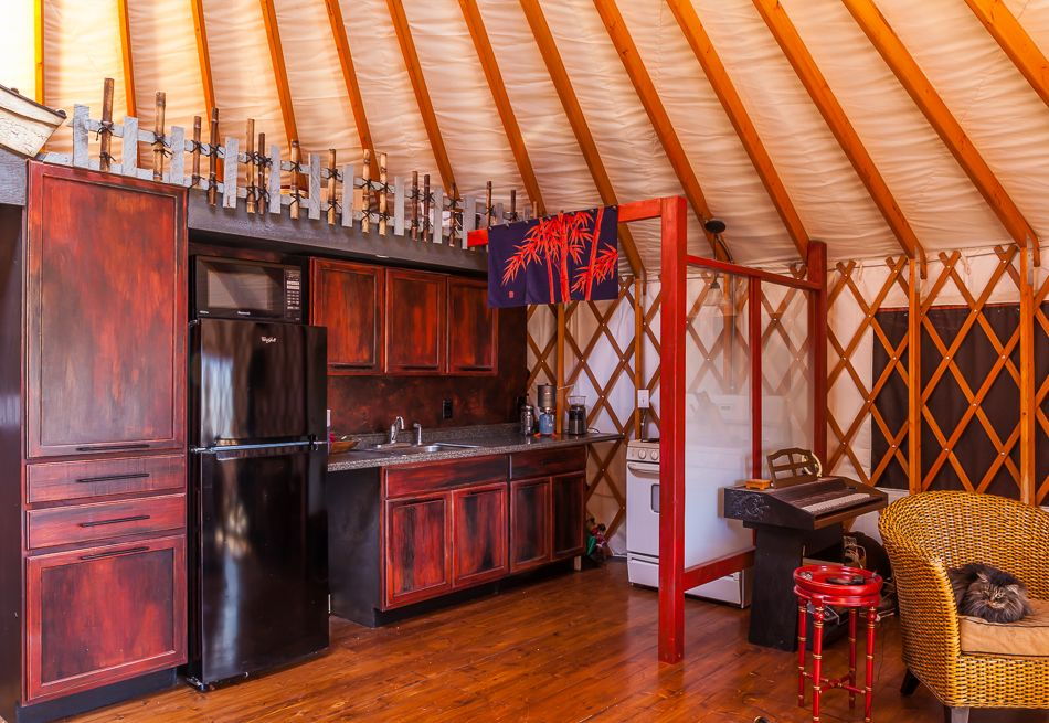 colorado yurt company: yurt interior design | haus | pinterest