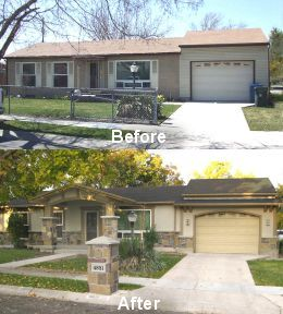 Facelifts For Homes. Before And After Transformations With Great Ideas. We  Are Home Renovation