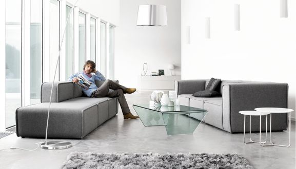 Carmo Sofa: A Modular Seating System By BoConcept