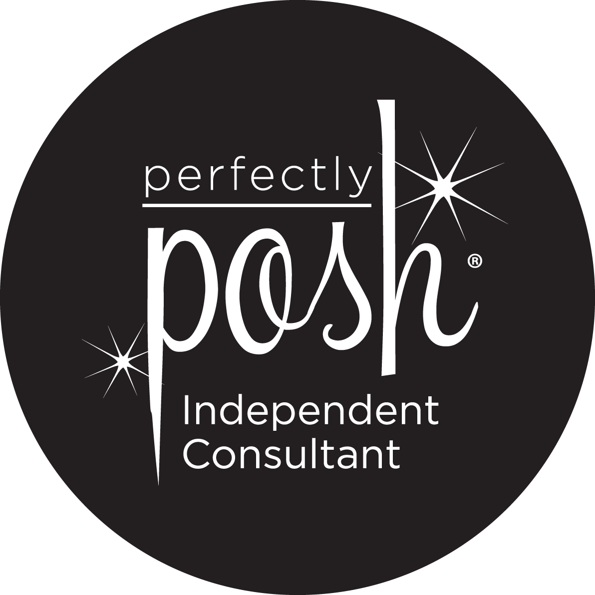 White On Black Pp Twinkle Logo Perfectly Posh What Is Posh Perfectly Posh Reviews
