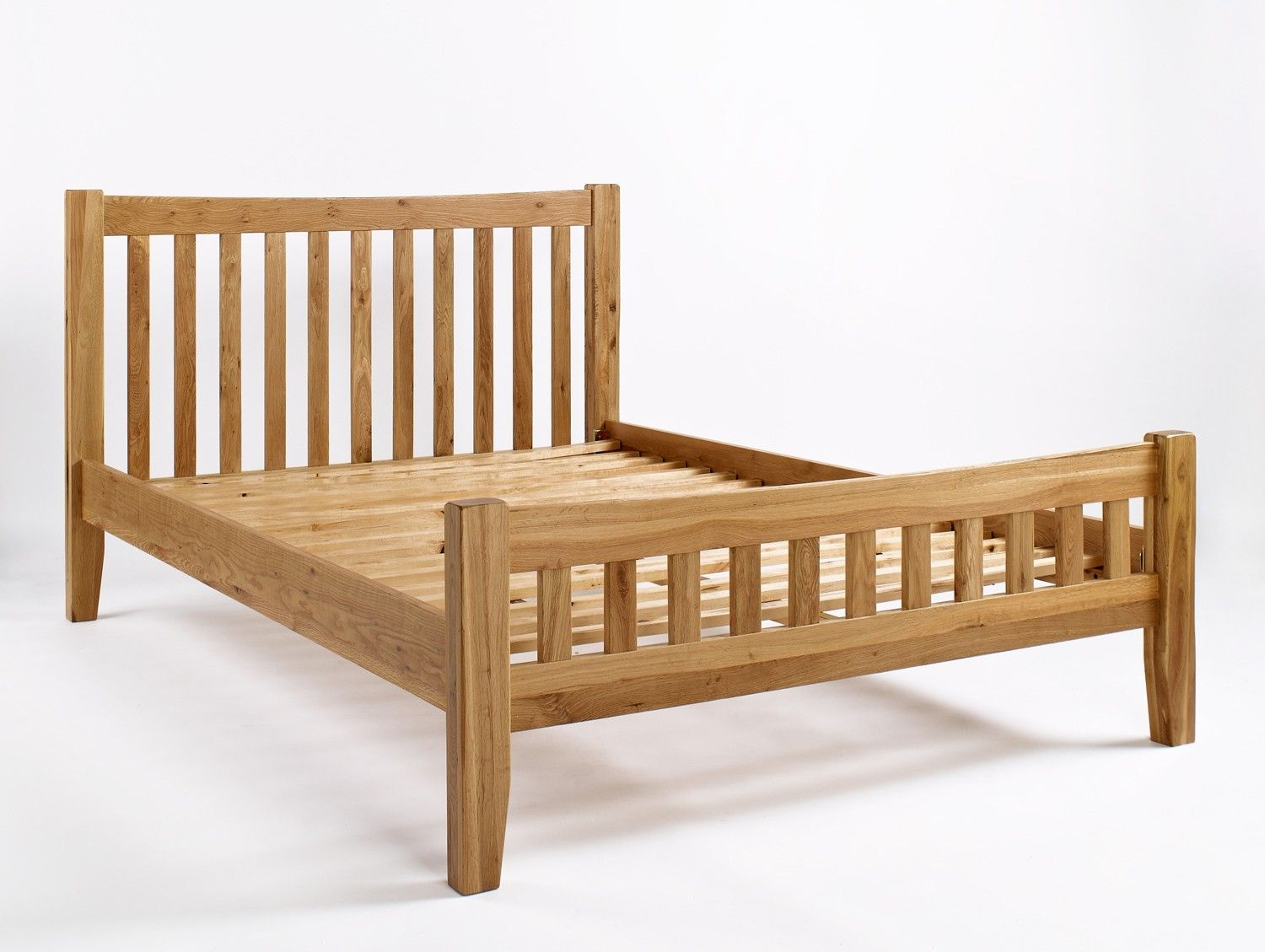 Westbury oak u bed is carefully made with dovetailed drawers and