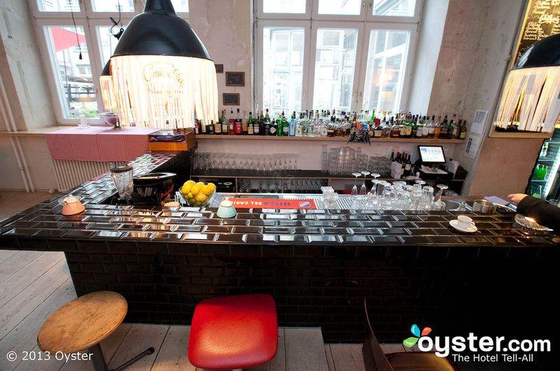 Michelberger Hotel bar - Berlin