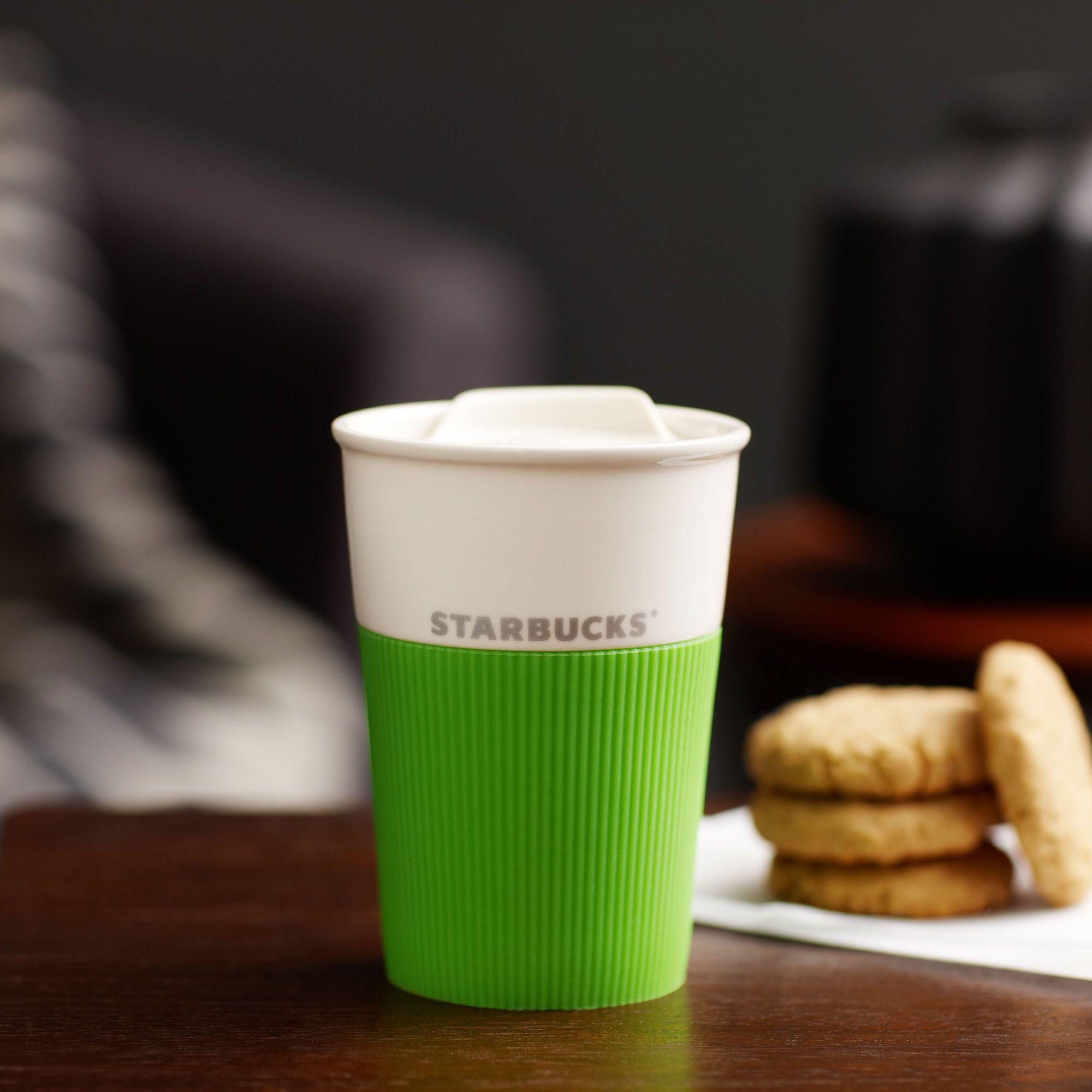 Starbucks Ceramic Traveler Lime 8 Fl Oz Starbucks Mugs