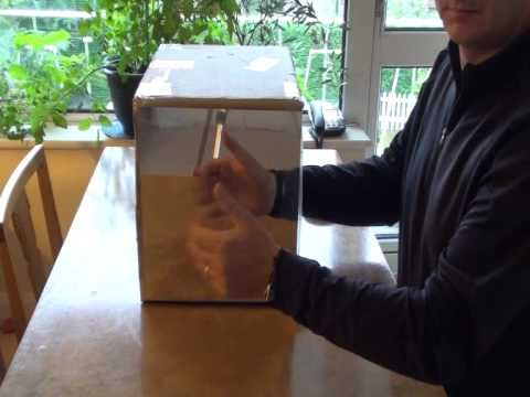Make A Mirror Box Mirror Box Therapy Stroke Or Phantom