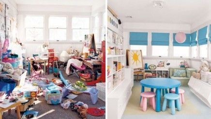 Clutter Free And Looking Great Before And After Home Picture