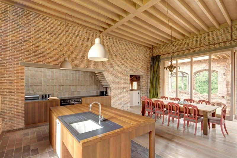 Astley Castle by Witherford Watson Mann Architects | HomeDSGN