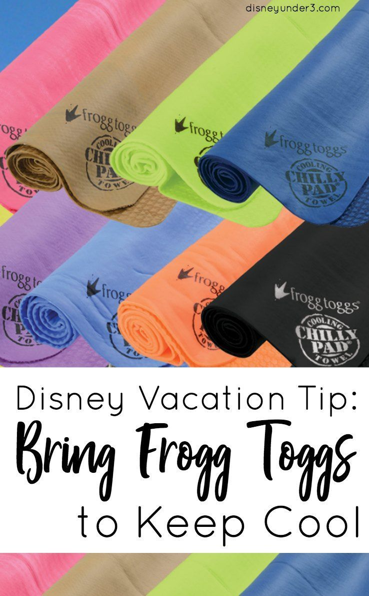 Disney Vacation Tip Bring Frogg Toggs to Keep Cool