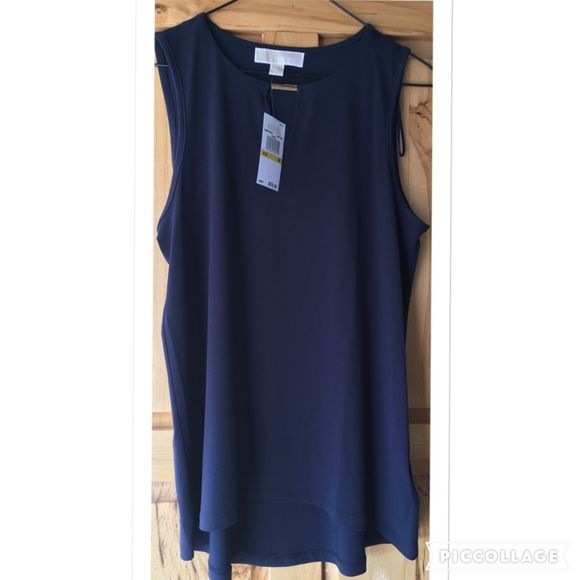 New W/Tags Michael Kors Tank Size Medium This Michael Kors Top is beautiful!!! Never worn, brand new with tags!  Size Medium.  You will be very pleased with quality! Michael Kors Tops Tank Tops