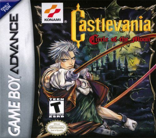 Castlevania Circle Of The Moon Video Games Nintendo Game Boy Advance Gameboy Castlevania Games