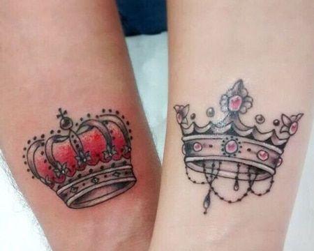 Impresionantes Y Realistas Tatuajes De Coronas A Color Coronas