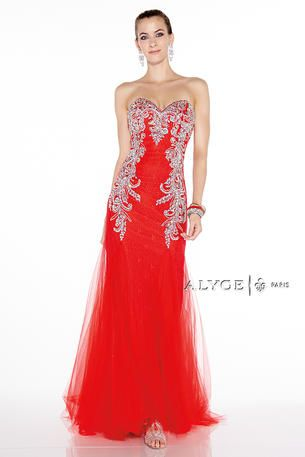Fabulous Red Evening Gown Would Be Perfect For Heart Ball Or Any