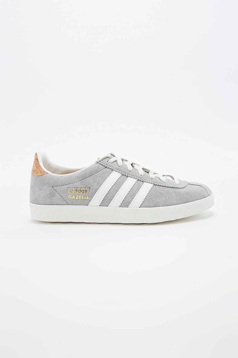 adidas Gazelle Suede Trainers in Grey  c0025717b0