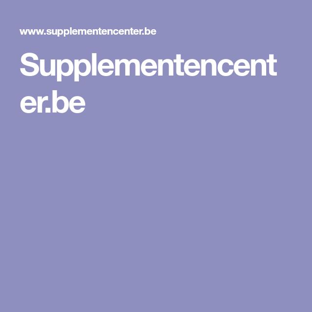 Supplementencenter.be