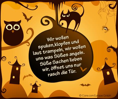 Die 5 Schönsten Sprüche Zu Halloween Halloween Halloween Happy