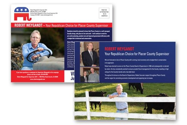 Robert Weygandt Political Mailer Designed By The Marketing Minds
