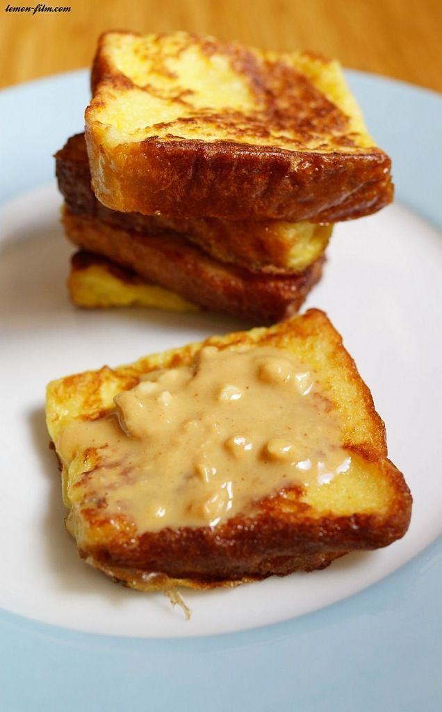 French Toast With Peanut Butter