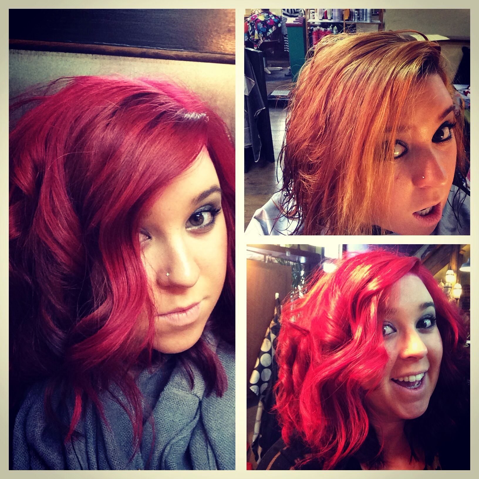 Red hair love!!! #pravana #pravanavivids