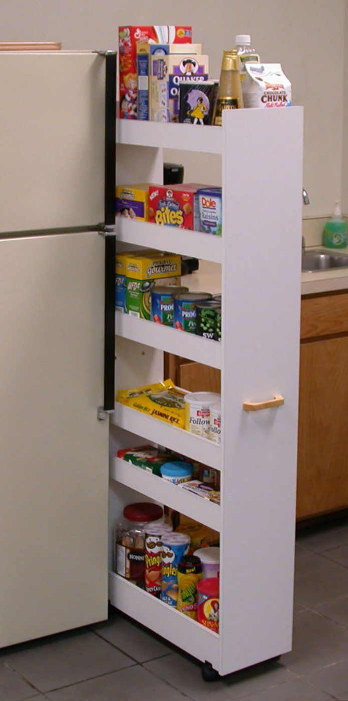 beside a narrow pin skinny goods canned out the spice kitchen fridge pantry cabinet to pulls reveal
