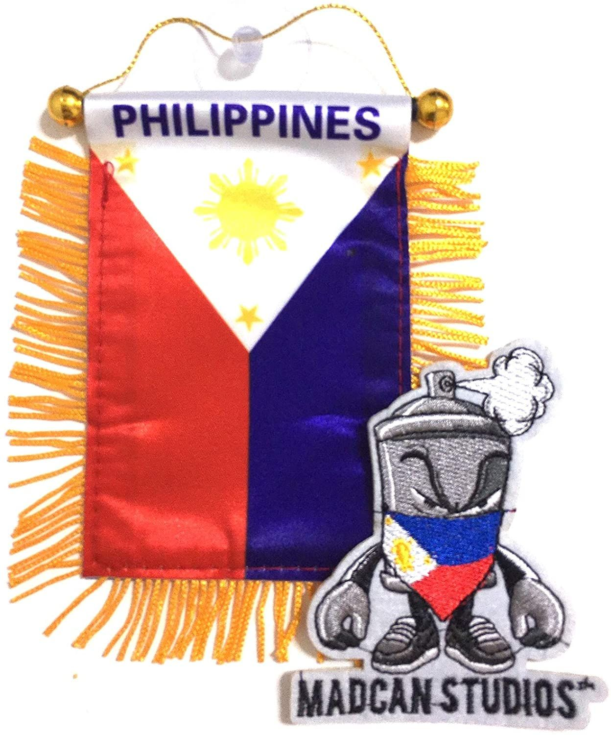 Philippines Quality Made Mini Banners Home Auto Accessories Home Stuck Banner Car Decals [ 1500 x 1248 Pixel ]