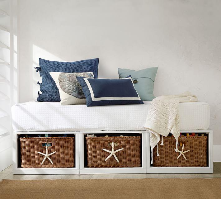 Stratton Storage Platform Daybed With Baskets