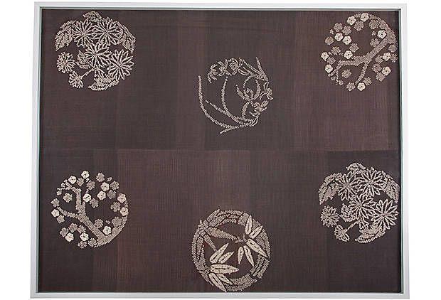18th Japanese Textile, Nate Berkus