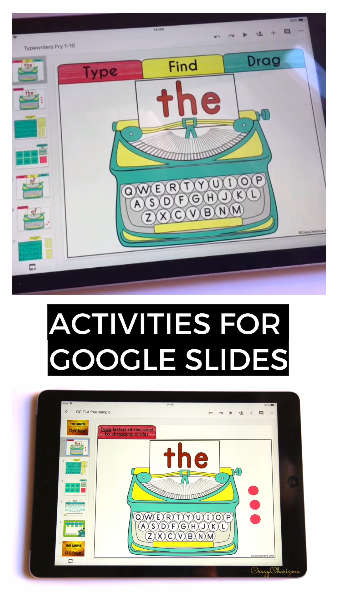 Google Classroom Activities for Kindergarten | Sight Words