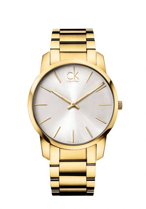 Calvin Klein City Gent K2g21546 Calvin Klein Watch Watches Gold Watch