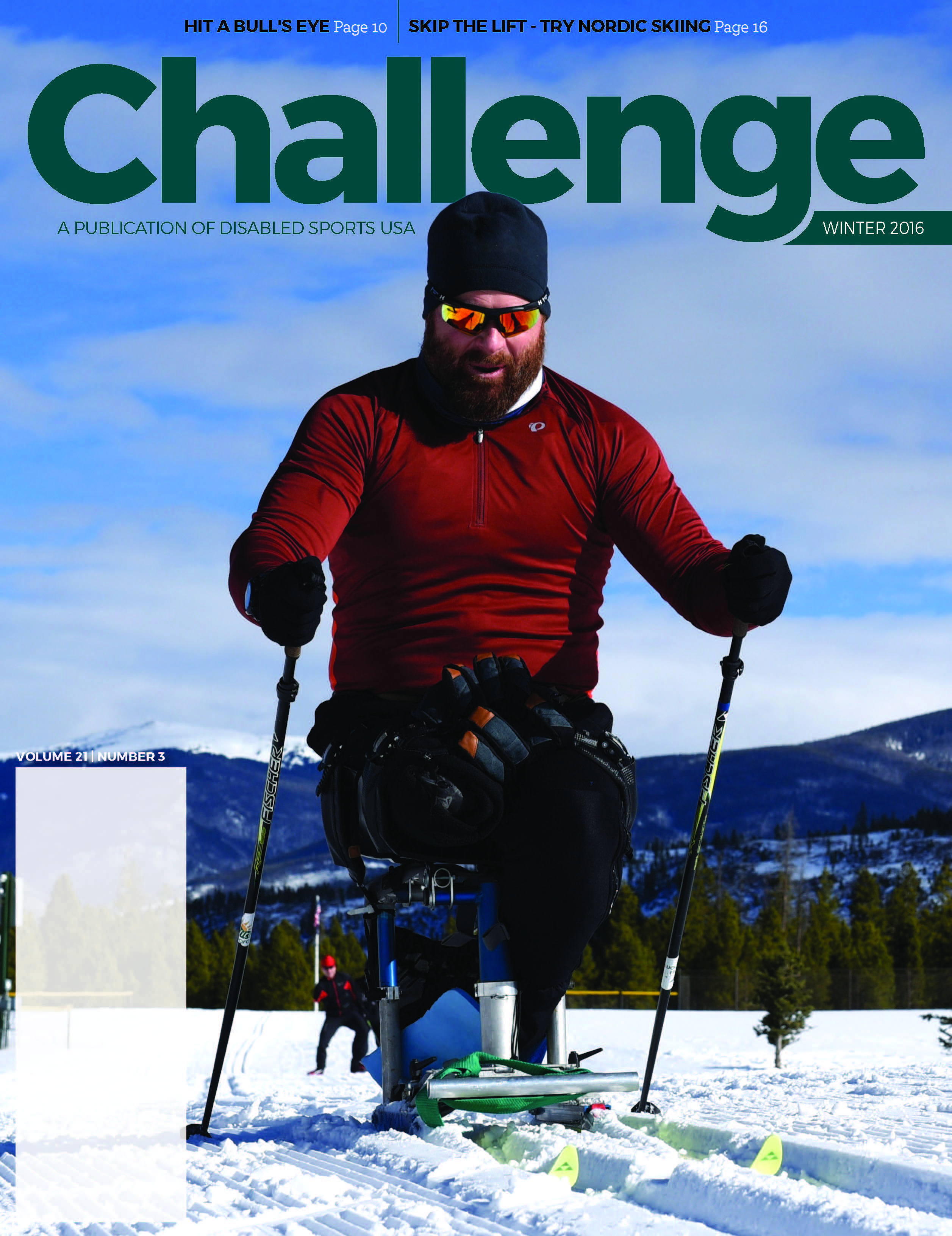 Click On A Sport To Learn More Nordic Skiing Sports Magazine Challenges