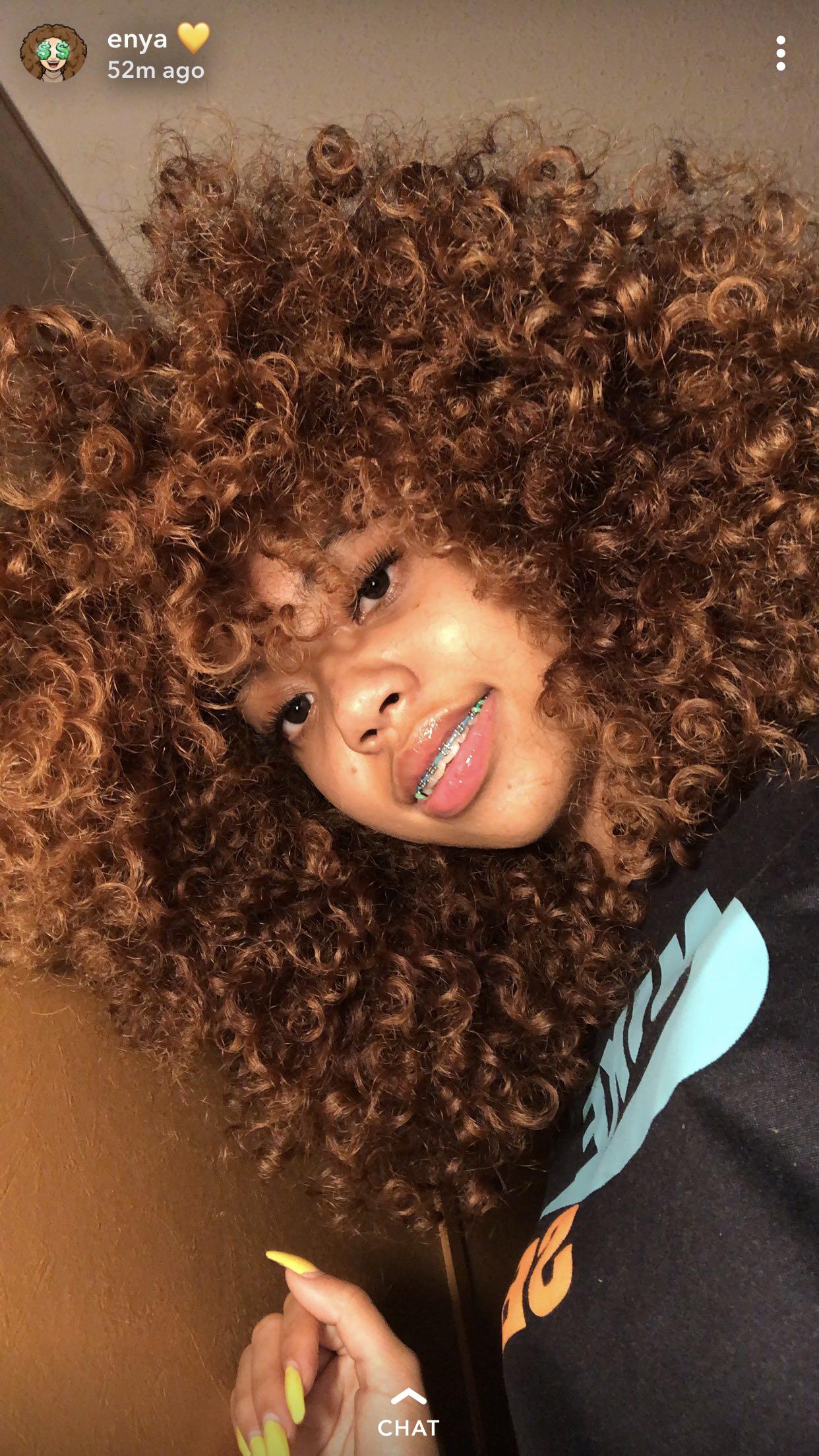 Pin Jada Chanel Honey Brown Hair Dyed Natural Hair Natural Hair Styles